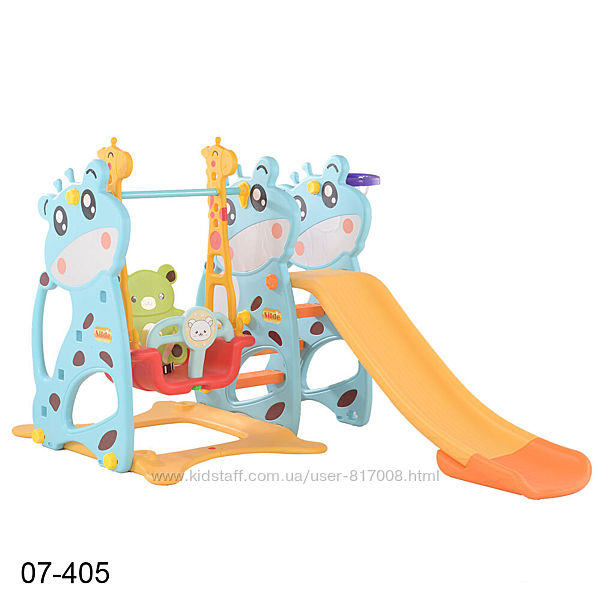 Toti 07 качеля с горкой детская игровая площадка для дома улицы