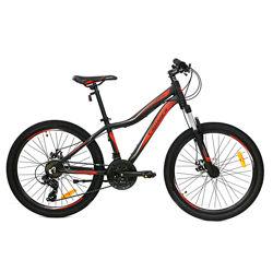 Crosser Streаm 24 дюйма велосипед горный подростковый алюминиевая рама