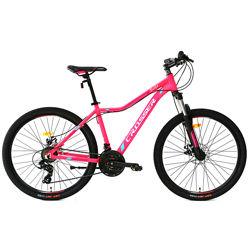 Crosser Selfy 26 дюймов велосипед женский двухколесный горный алюминий