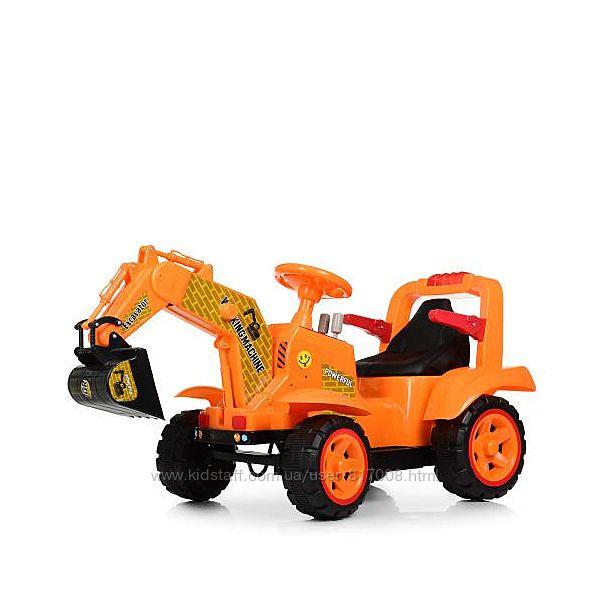 Трактор 4142L детский с ковшом мобиль на акумуляторе