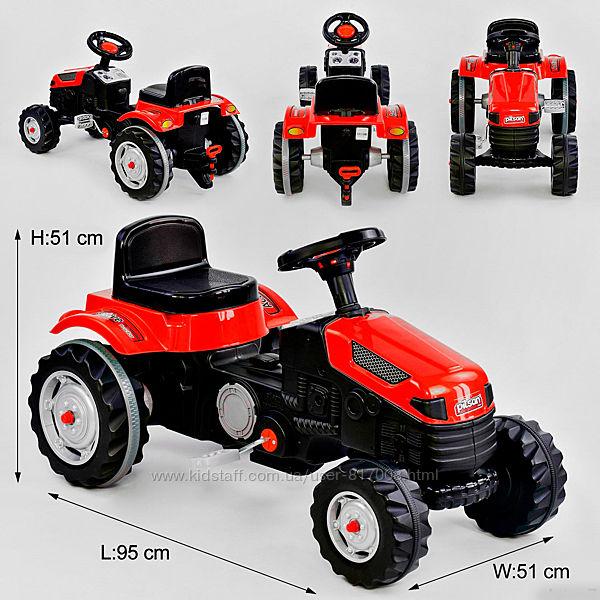 Трактор Pilsan 07-314 педальный веломобиль детский