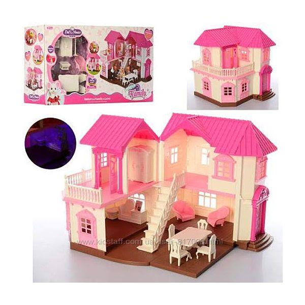 Домик 1805 счастливая семья игрушка с мебелью