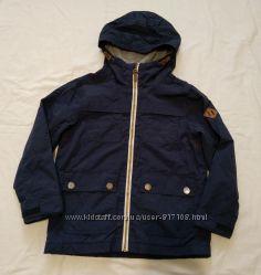 куртка ветровка Next 6 лет 116 см  подкладка флис