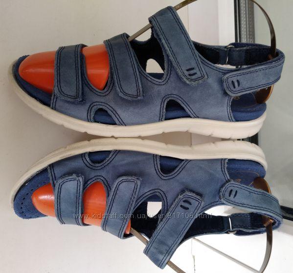женские сандалии босоножки Ecco р. 36 стелька 23 см съёмная стелька