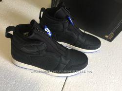 ОРИГИНАЛ Nike Air Jordan 1 High Zip чёрные