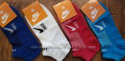 Женские спортивные носки Nike сетка короткие стрейч р. 36-41 Турция