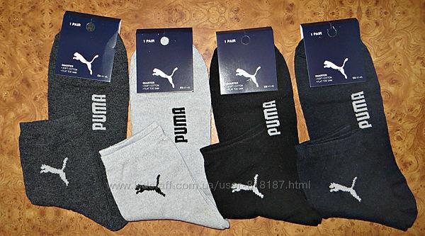 Мужские спортивные  носки Puma стрейч  Турция. р. 41-45.