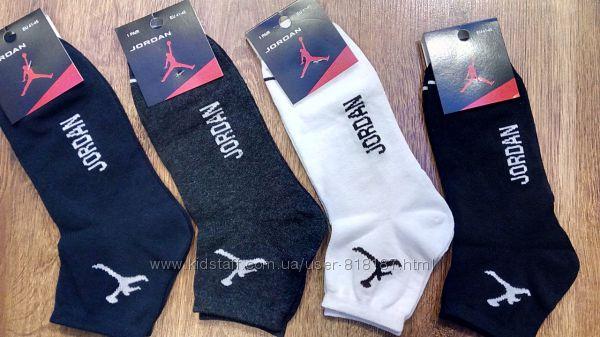Мужские демисезонные носки Jordan стрейч р. 41-45