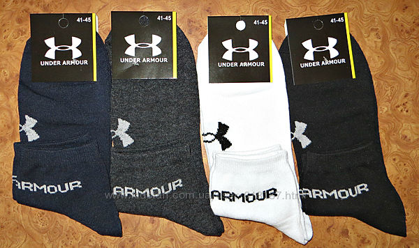 Мужские спортивные носки Under Armour  стрейч короткие средние  р. 41-45