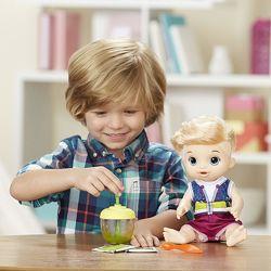 Baby Alive Sweet Spoonfuls Boy, кукла-мальчик, США, оригинал