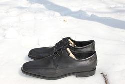 Туфли классические черные ECCO 45р. Оригинал. Кожа