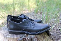 Туфли классические черные gallus оригинал. кожа