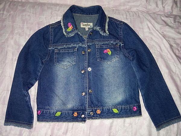 Куртка джинсовая, 6-8 лет