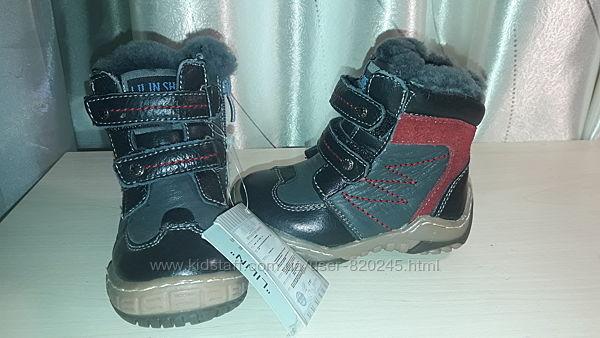 Сапоги, ботинки кожа 12 см 21 р.
