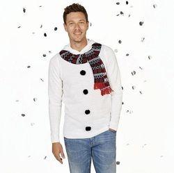 Фирменный свитер с рождественским мотивом  Livergy. Германия.