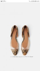 Фирменные туфли от ZARA.