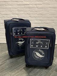 Ультралегкие тканевые чемоданы на 4 кол. Турция