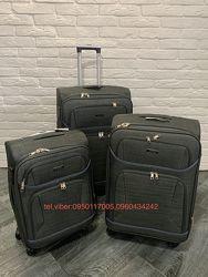 Тканевые чемоданы ORMI на 4 кол. В наличии. Гарантия. Оригинал