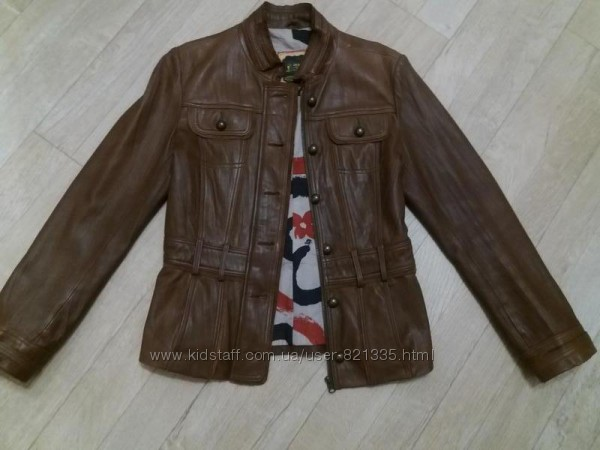 Куртка жакет кожаная женская