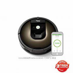 Робот-пылесос iRobot Roomba 980 Официал  Гарантия