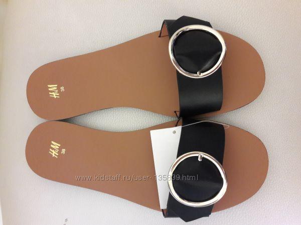 Шлёпочки H&M  размер 38