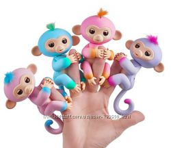 Обезьянки Fingerlings разные цвета