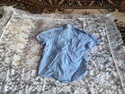 Рубашка для мальчика 4-5 лет короткий рукав фирма H&M