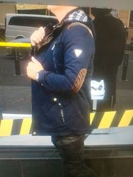 Новая куртка парка/ветровка мужская. Размер  3XL.