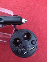Автомобильное зарядное устройство на 2 USB порта