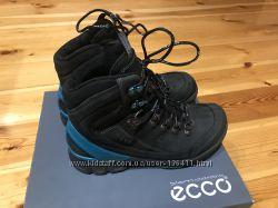 Новые кожаные ботинки  ECCO c gore-tex, Оригинал - 40р