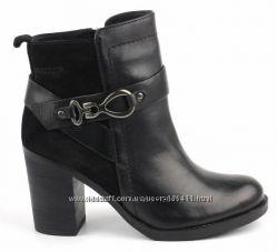 GEOX, оригинал. Кожаные демисезонные ботинки - 40р - 26 см