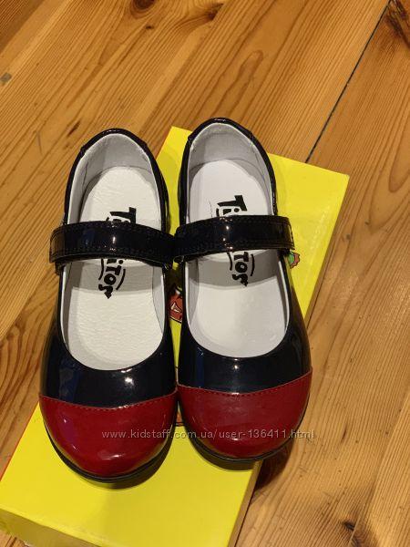 Акция. Кожаные туфельки TIRANITOS - 29р