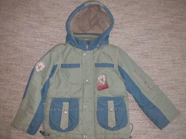 Демисезонная куртка Кико мальчику 110 см