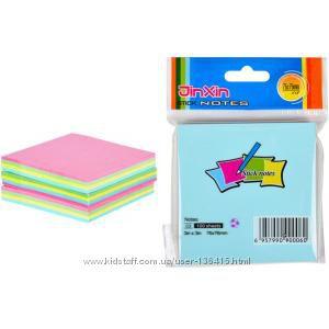 Бумага для записей, стикеры, цветные закладки-стикеры