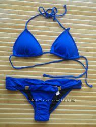 Victorias Secret оригинал купальник верх треугольником М плавки XS