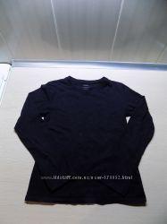 Кофта джемпер лонгслив черный фирменный Hema на рост 134-140 см