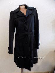 Куртка плащ ветровка пальто коттоновое черное WeFashion размер 48-50