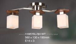 Люстра припотолочная TINKO 11867SL3H WT, 3 лампочки