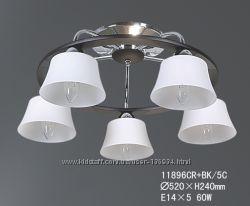 Люстра потолочная TINKO 11896CRBK5C, 5 лампочек