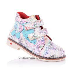 Демисезонные ботинки для девочек 21-25 р-р 14.3.110