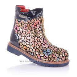 Демисезонные ботинки для девочек 21-25 р-р 14.3.102