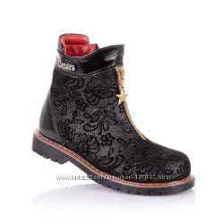 Демисезонные ботинки для девочек 21-25 р-р 14.3.101