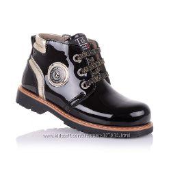Демисезонные ботинки для девочек 26-30 р-р 11.3.165