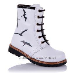 Демисезонные ботинки для девочек 21-25 р-р 14.3.14