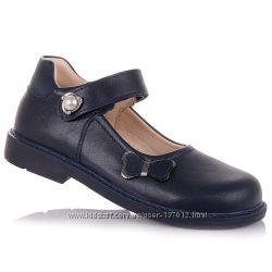 Школьные туфли с ортопедической подошвой для девочек 31-36 р-р 11.5.109