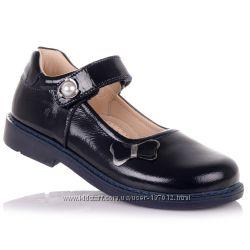Школьные лаковые туфли с ортопедической подошвой для девочек 31-36 р-р 11.5.108