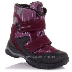 Зимние сапоги на липучках для девочек для девочек 21-25 р-р 5.4.315
