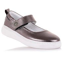 Эффектные туфли на белой подошве для девочек 31-36 р-р 11.5.110