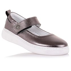 Эффектные туфли на белой подошве для девочек 37-40 р-р 11.5.110