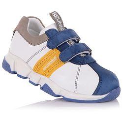 Стильные кроссовки на синей подошве для мальчиков 21-25 р-р 11.2.264